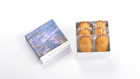 Madeleine of Monet's recipe JPY1,029(set of 6/tax included)