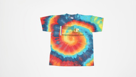 Rainbow T-shirt JPY4,630(tax included)
