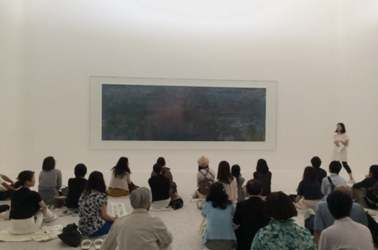 Morning Talk about Claude Monet by Ayano Hayashi:
