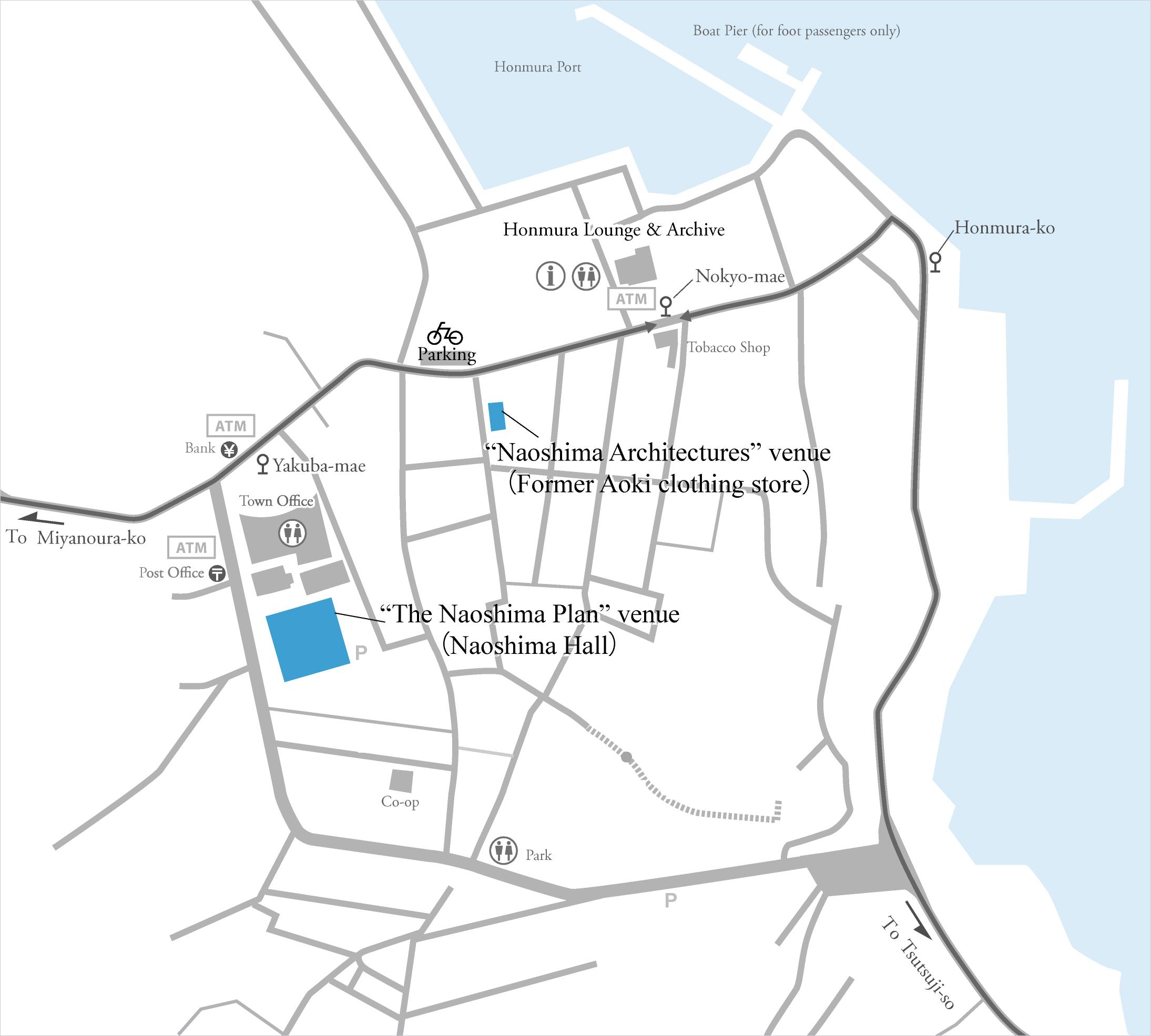 Naoshima Architectures The Naoshima Plan Benesse Art Site Naoshima - Japan map naoshima